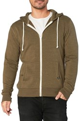 Threads For Thought Trim Fit Heathered Hoodie Army