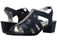 David Tate Eve Navy Stain Women's Dress Sandals