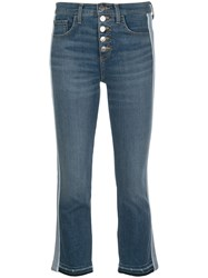 Veronica Beard Mid Rise Flared Jeans 60