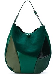 Carmina Campus Round Tote Bag Green