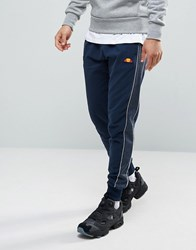 Ellesse Joggers With Piping Navy