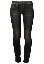 Amor Trust And Truth Emily Slim Fit Jeans Dark Rust Brown
