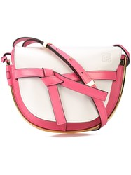 Loewe Gate Small Shoulder Bag Pink