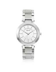 Dkny Stanhope Silver Tone Stainless Steel Women's Watch