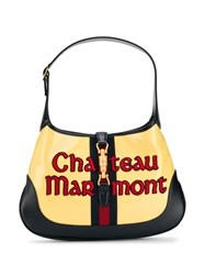Gucci Chateau Marmont Hobo Bag Black