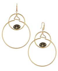 Sis By Simone I Smith Double Drop Halo Earrings In 18K Gold Over Sterling Silver