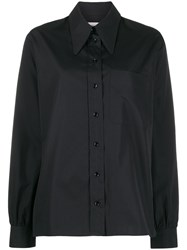 Christophe Lemaire Boxy Fit Oversized Collar Shirt 60
