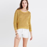 Madewell Northshore Pullover Sweater Bright Ivory