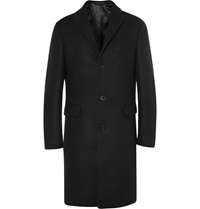 Acne Studios Garret Melton Wool Coat Black
