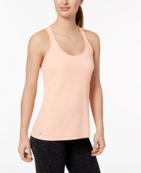 Ideology Rapidry Heathered Racerback Performance Tank Top Created For Macy's Juicy Melon
