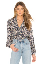 Rachel Pally Pointelle Rayon Fable Top Blue