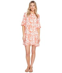 O'neill Isabella Cover Up Coral Women's Swimwear