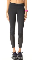 Terez Faux Leather Leggings Black