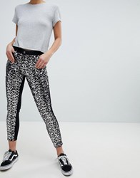 Parisian Skinny Jeans In Sequins Black