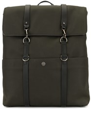 Mismo Foldover Top Backpack Green