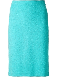 Moschino Cheap And Chic Boucle Skirt