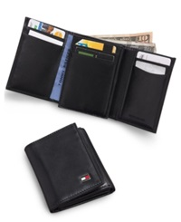 Tommy Hilfiger Oxford Slim Trifold Wallet Black