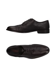 Dama Lace Up Shoes Dark Brown