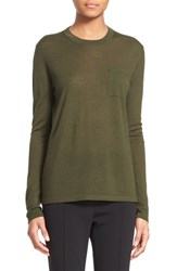 Women's Alexander Wang Wool And Silk Crewneck Sweater
