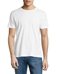 Brooks Brothers Pullover Short Sleeved Tee White
