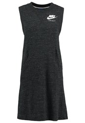 Nike Sportswear Jersey Dress Black Mottled Black