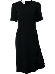 Ca Dric Charlier Side Slit Dress Black