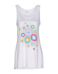 Miss Naory Topwear Vests Women White