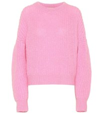 Baum Und Pferdgarten Exclusive To Mytheresa Chuden Mohair And Wool Blend Sweater Pink