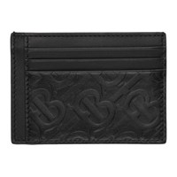 Burberry Black Monogram Bernie Card Holder