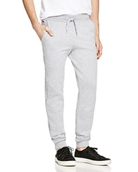 Lacoste Classic Fleece Drawstring Sweatpants Silver Grey Chine