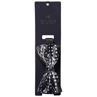 Scotch And Soda Satin Spot Bow Tie Black White