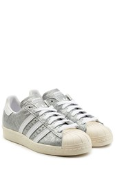 Adidas Originals Superstar 80S Leather Sneakers Multicolor