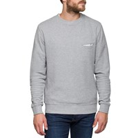 L'estrange Grey Cross Collar Sweatshirt