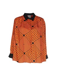 Alice San Diego Shirts Shirts Women Orange