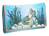 Anuschka 1042 Little Mermaid Wallet Handbags Multi