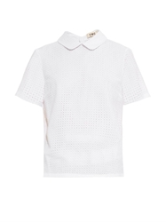 Ymc Broderie Anglaise Cotton Top