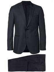 Dell'oglio Two Piece Formal Suit Blue