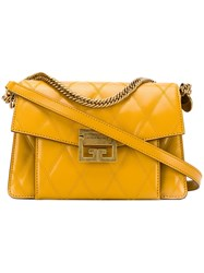 Givenchy Quilted Gv3 Shoulder Bag Yellow