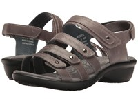 Propet Aurora Grey Women's Hook And Loop Shoes Gray