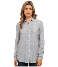 Mavi Jeans Pintuck Shirt Deep Blue Women's Clothing