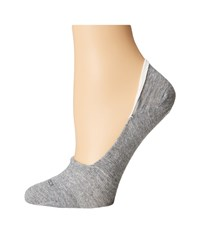 Icebreaker Lifestyle Fine Gauge Ultra Light No Show Blizzard Heather Women's No Show Socks Shoes Blue