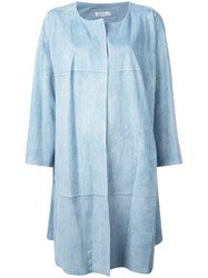 Desa 1972 Oversized Coat Blue