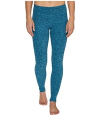 Beyond Yoga Spacedye Long Essential Leggings Amalfi Coast Tahiti Teal Women's Casual Pants Blue