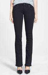 Hudson Jeans 'Beth' Baby Bootcut Jeans Black