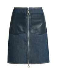 Edun Patch Pocket Denim Skirt