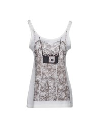 Paul Smith By Tank Tops White
