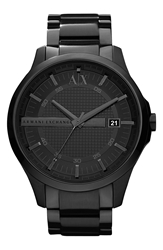 Armani Exchange Bracelet Watch Black Black