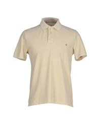 Brooksfield Topwear Polo Shirts Men Beige