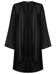 Jacques Vert Soft Longline Cover Up Black