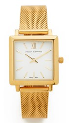 Larsson And Jennings Norse Watch Gold White